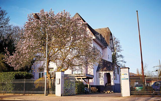 Die Verwaltung der Rheinische Provinzial-Basalt- und Lavawerke in Sinzig